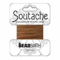 Soutache 3mm - Fb. 1550 / Light Brown