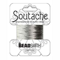Soutache 3mm - Fb. 1090 - Silver