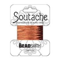 Soutache 3mm - Fb. 1200 - Copper metallic