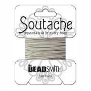 Soutache 3mm - Fb. 1210 - Silver Grey