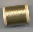 DMC Metallic Thread - Fb. 282 Light Gold